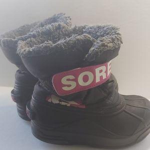 SOREL Kids Snow Commander Boots
